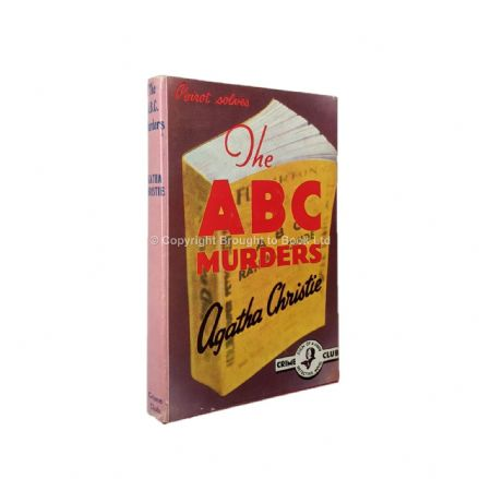 The ABC Murders by Agatha Christie Reprint Collins The Crime Club 1972